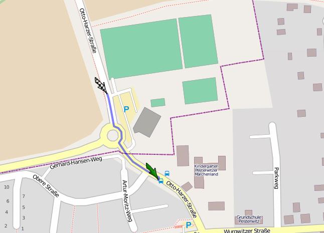 170 Sportplatz Pesterwitz fußweg